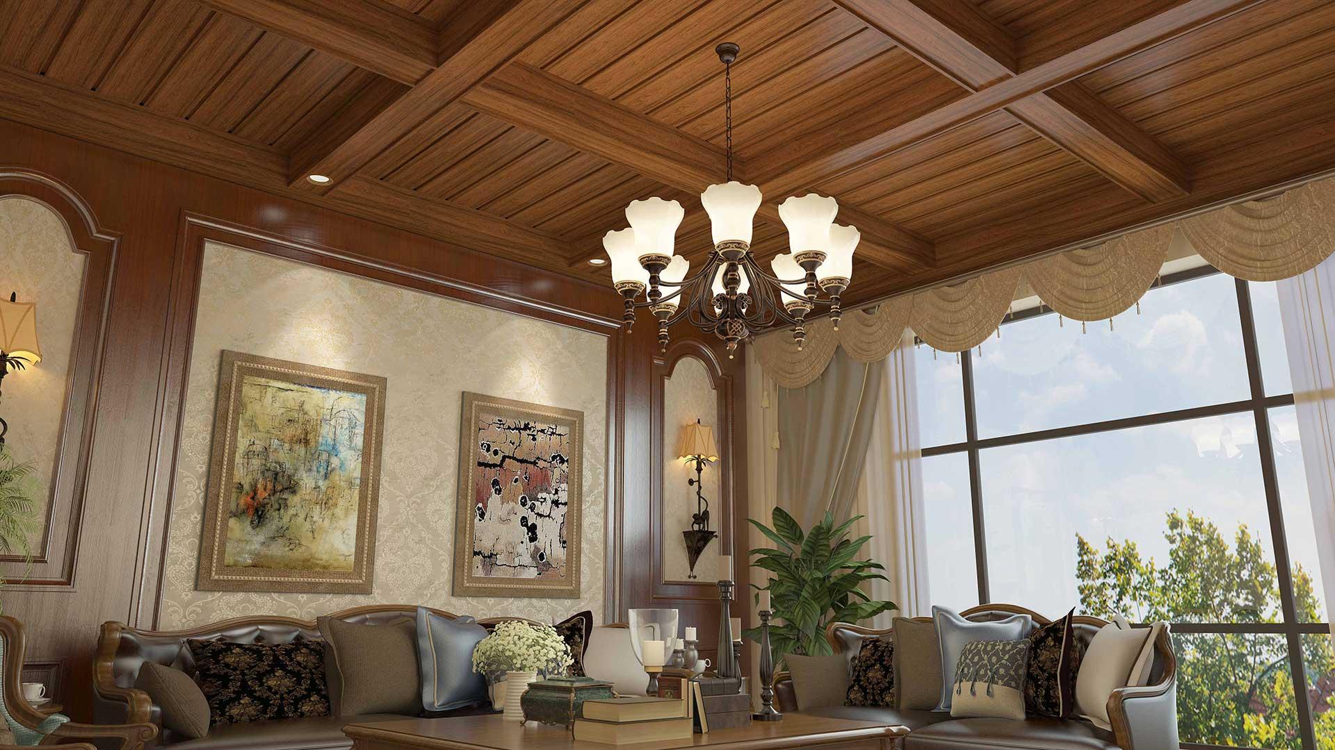 简豪铝木定制吊顶——常用吊顶天花有哪些优点与缺点