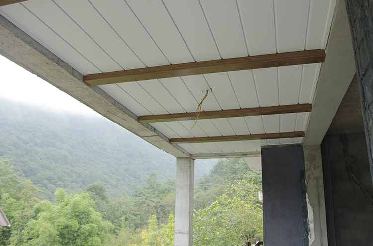 简豪铝木定制吊顶|成都 青城山
